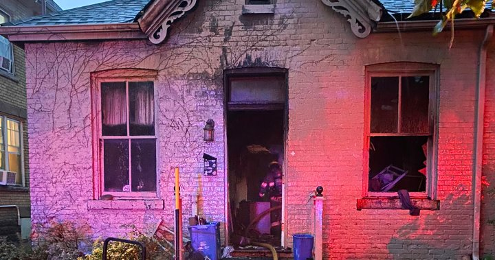 Early evening blaze at Waterloo Street home deemed suspicious by London police
