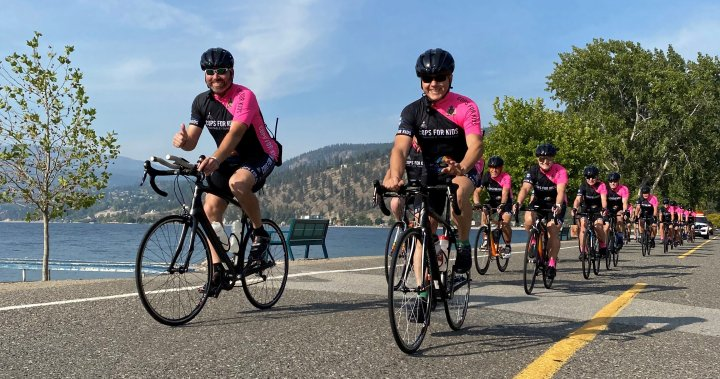 Cops for Kids to roll through Vernon Saturday as journey ends
