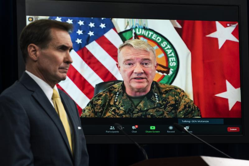 'Tragic mistake': Pentagon admits Kabul drone strike killed 10 civilians instead of ISIS