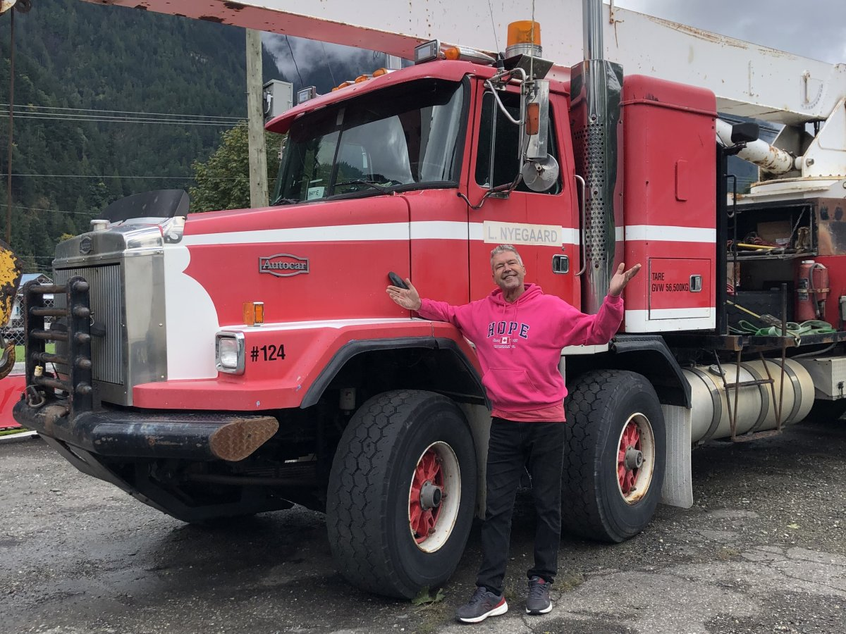The organizer, Larry Nyegaard, says the convoy will run from Hope to Kamloops on Sept. 30.