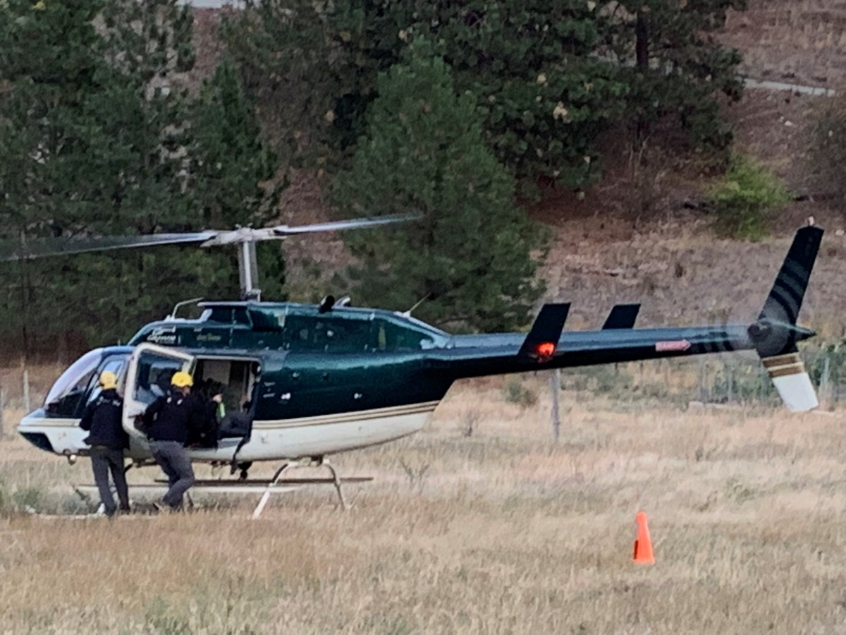 Central Okanagan Search and Rescue said the couple were hiking in the McCall Lake area above Peachland became disoriented on the trails. After circling a lake twice, they decided to call for help.
