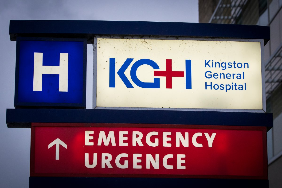 Kingston Health Sciences Centre has placed 136 of its staff on unpaid leave for refusing to show proof of COVID-19 vaccination.