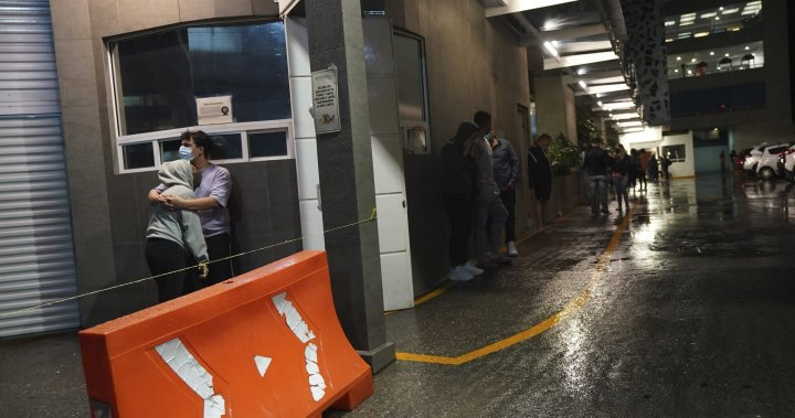 Powerful earthquake damages buildings in Mexico, no reports of casualties – National   Globalnews.ca