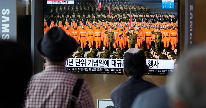 North Korea will stage a simplified military parade featuring hazmat suits  and several weapons-nationwide - Eminetra Canada