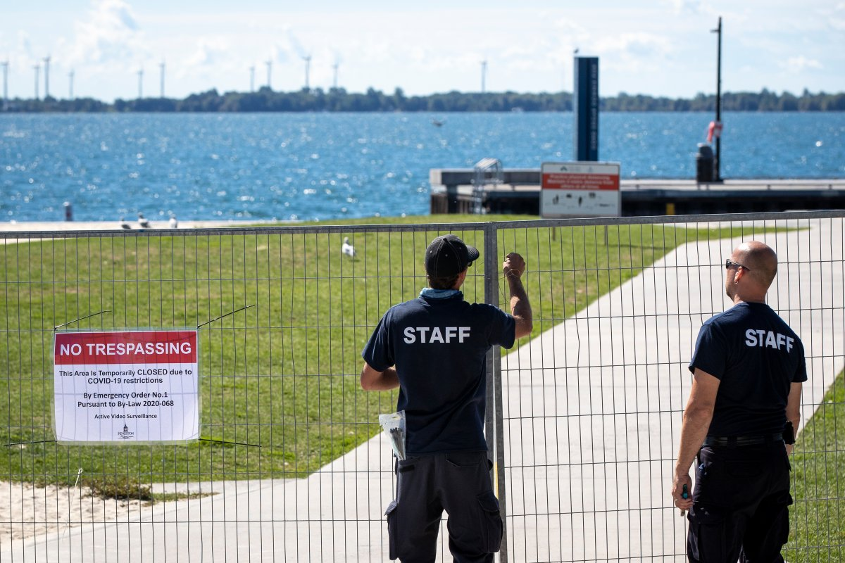 The Gord Edgar Downie Pier will once again be closed. The mayor enacted an emergency order to close the pier for 18 days after several large parties took place in the nearby University District.