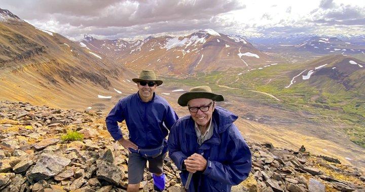 Memorable trip: B.C. dad, 78, son, 53, visit spectacular, remote park for adventurous hike | Globalnews.ca