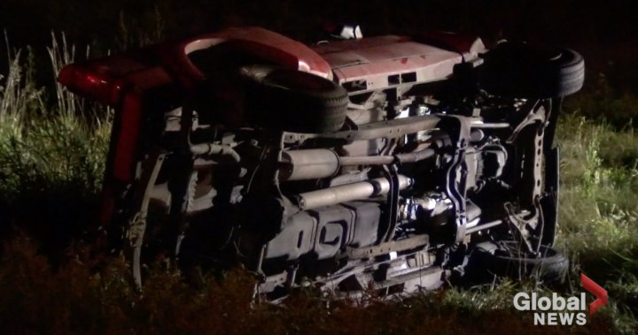 Hastings man charged with impaired driving following rollover south of Peterborough: OPP – Peterborough | Globalnews.ca