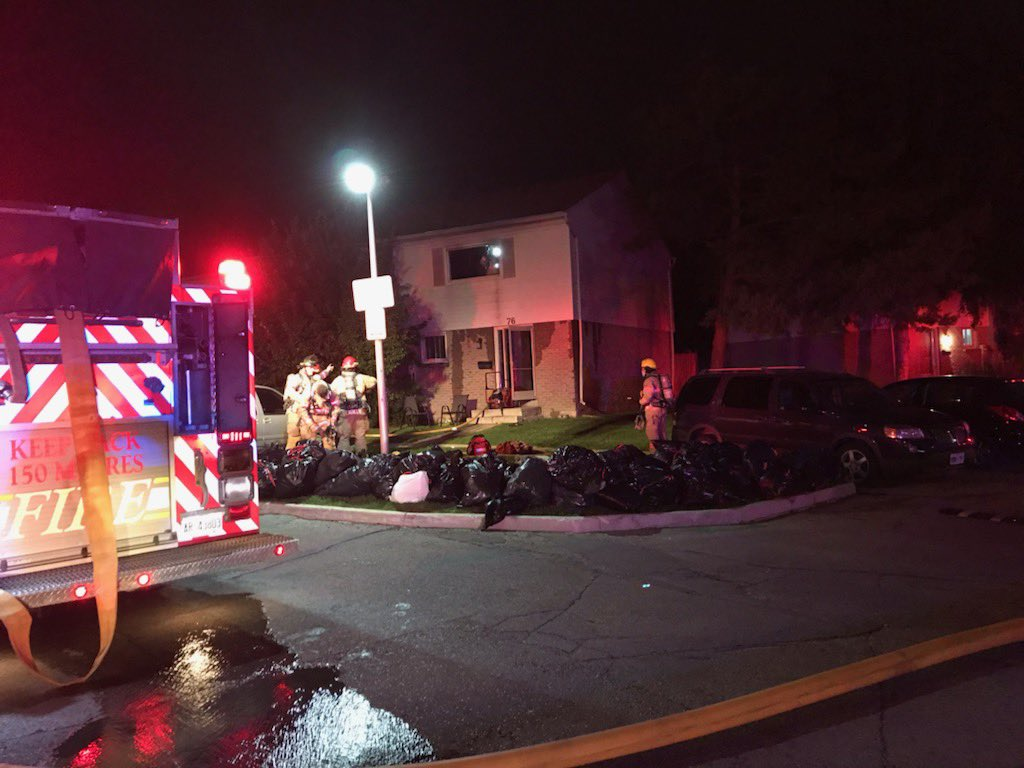 The London Fire Department says a blaze caused significant damage to a townhouse located at 1600 Culver Dr., Unit 76.