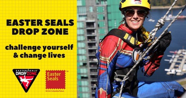 Global BC sponsors Easter Seals Drop Zone (Surrey) – BC