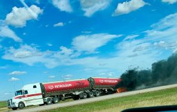 Continue reading: Firefighters, RCMP called to semi-truck fire on Highway 11