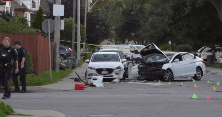 Police urge suspect who fled fatal crash scene in central Hamilton to surrender