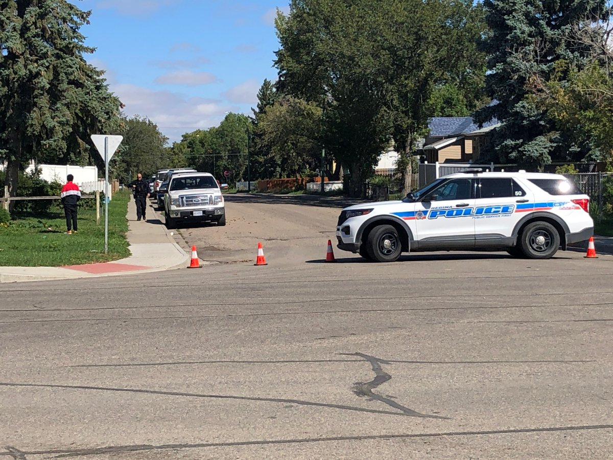 Regina police received three calls on Thursday morning, two of which reported a man had allegedly assaulted a woman.