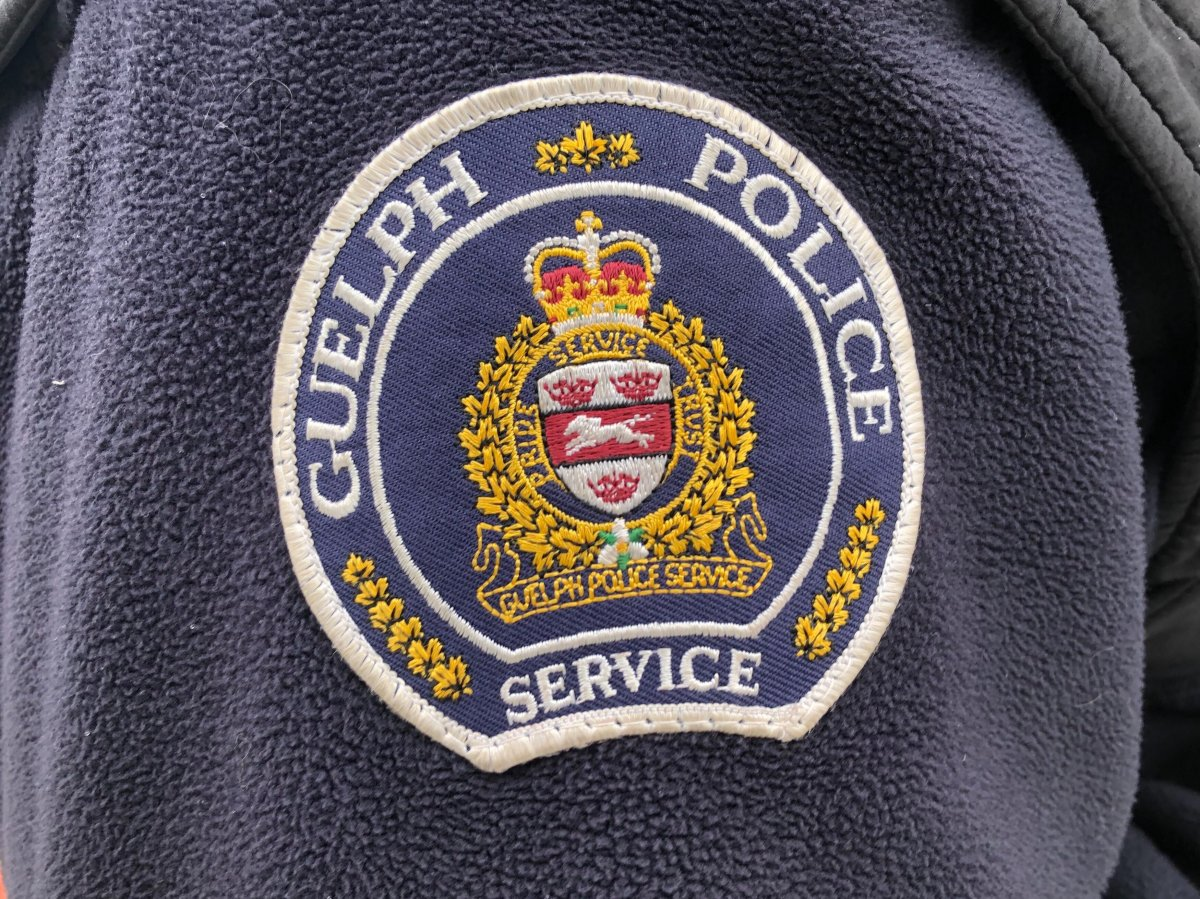 Guelph police shoulder patch.