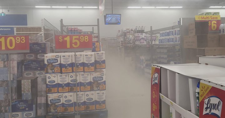 Woman arrested after another fire set in Sunrise Walmart in Kitchener