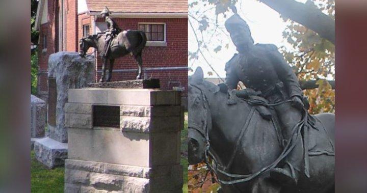 Historic bronze statue stolen from cemetery in Niagara Falls
