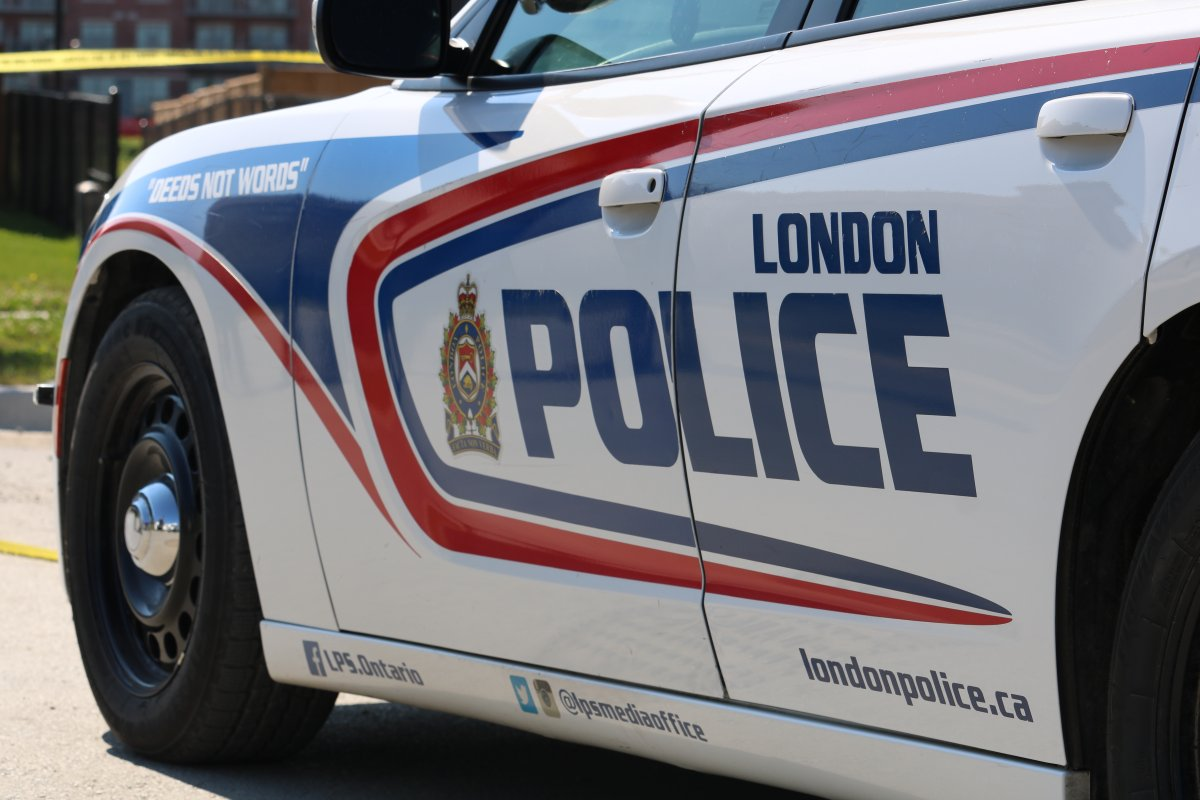 Police say they received a call early Saturday morning for a bullet hole inside the garage door of a student home near Fanshawe College.