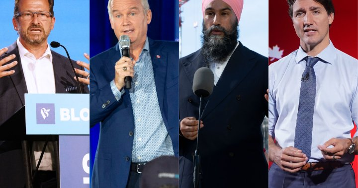 Photo of Federal parties lock horns over guns, COVID-19 response on Day 21 of election campaign