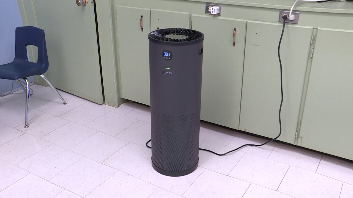 With the help of community donations, Quintilian School was able to meet its fundraising goal to put air purifiers in every classroom.
