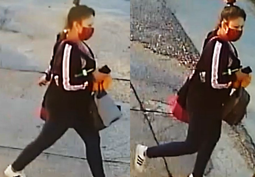 Winnipeg police are looking to speak to the woman in this surveillance photo.