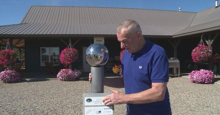 Model solar system creates interactive experience across Lethbridge | Globalnews.ca
