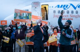 Continue reading: NDP Leader Jagmeet Singh makes final campaign push in battleground B.C.