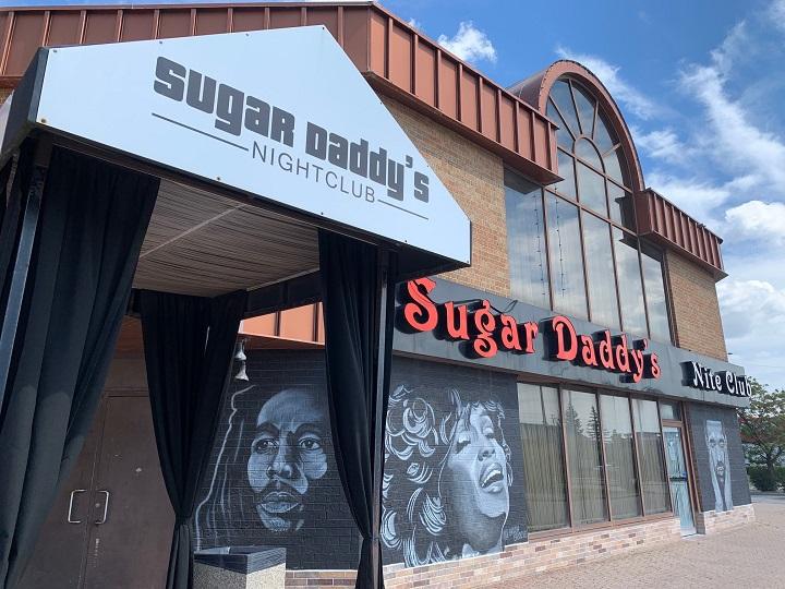 Sugar Daddy's nightclub in Mississauga.