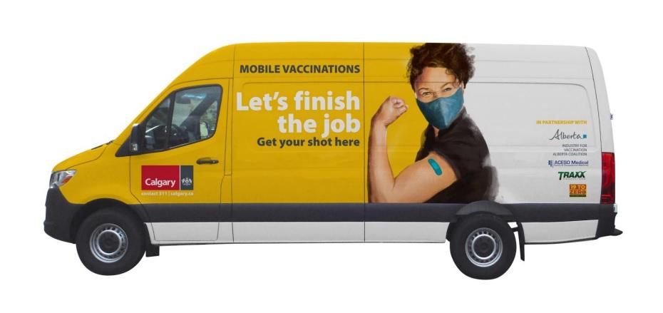 City of Calgary launches vaccine vans, outreach program