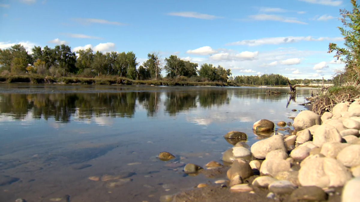 The Bow River in Calgary on Sunday, Sept. 12, 2021.