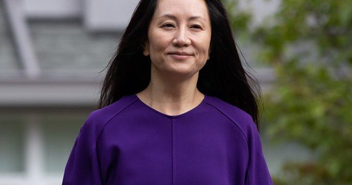 B.C. judge orders return of items seized from Meng Wanzhou during 2018 arrest