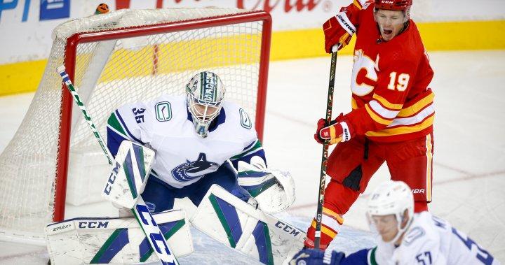 Calgary Flames win 4-1 over Vancouver Canucks in NHL pre-season game – Calgary