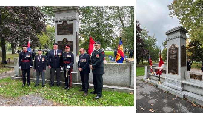 Kingston, Ont. adds 15 fallen artillery soldiers from Korean, Afghanistan wars to monument