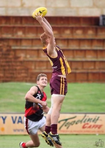 Cody Grace honed his Aussie Rules talent at Warwick Senior High School in Perth.