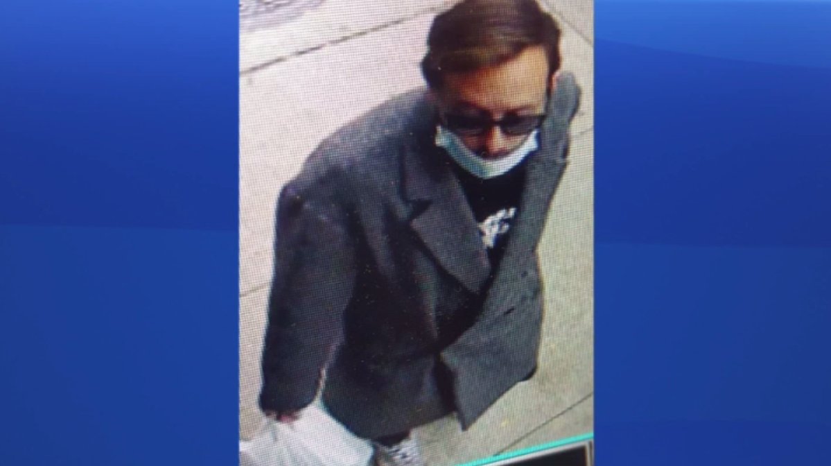 Police released this image of a man after a crossing guard was assaulted last week.