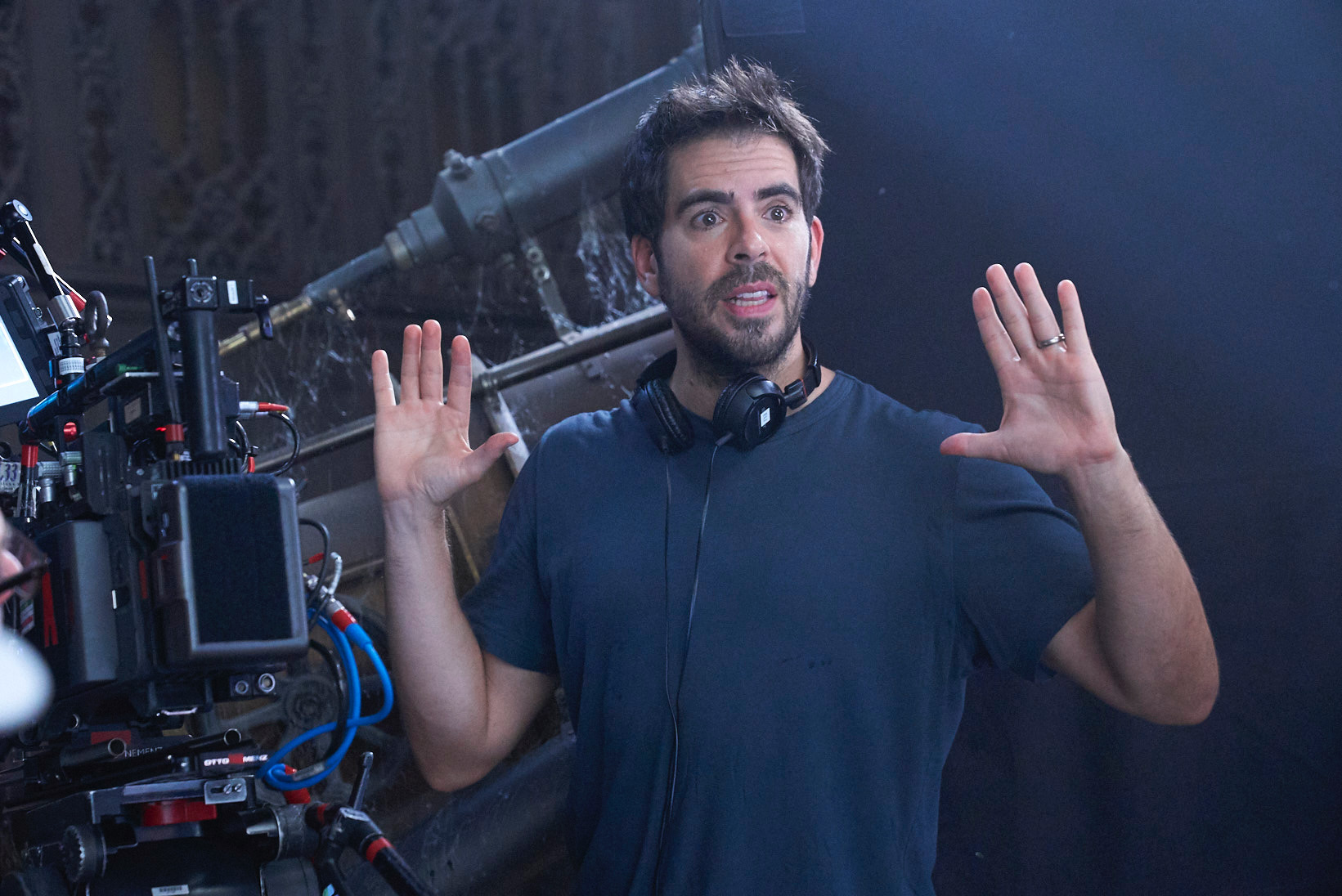 Eli Roth on his paranormal show 'A Ghost Ruined My Life': 'You've never seen something quite like this'