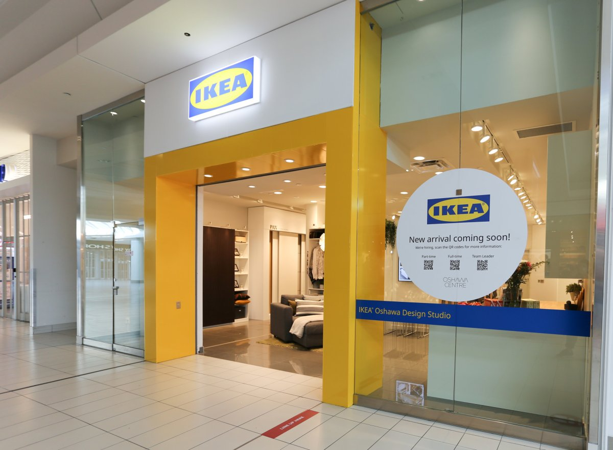 IKEA Canada expands its Design Studio network delivering personalized design and planning services with IKEA experts to reach more of its customers across Ontario. Pictured here, IKEA Design Studio Oshawa opened Sept. 1, 2021.