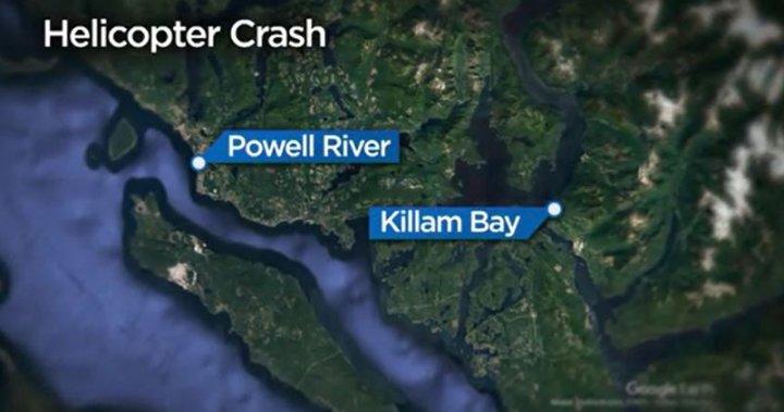 Logging helicopter crashes on B.C.'s Sunshine Coast – BC