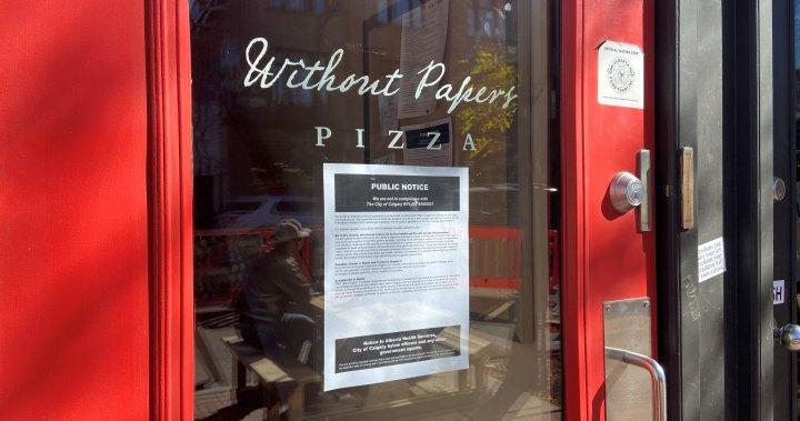 Calgary restaurant loses business, liquor licences over refusal to implement vaccine passport – Calgary